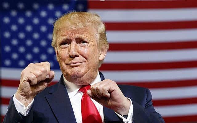 דונאלד טראמפ (צילום: קרוליין קאסטר AP)