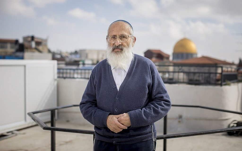 הרב שלמה אבינר (צילום: יונתן סינדל פלאש 90)