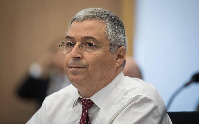 מנכ״ל בנק הפועלים לשעבר אריק פינטו (צילום: הדס פרוש, פלאש 90)