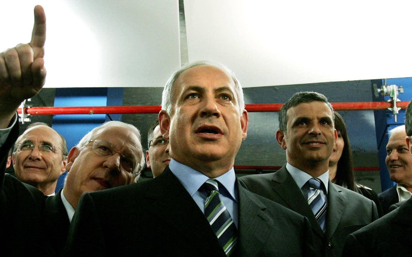 בנימין נתניהו, 2006 (צילום: AP Photo/Ariel Schalit)