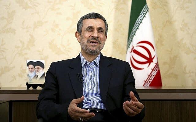 מחמוד אחמדינג'אד (צילום: AP Photo/Ebrahim Noroozi)
