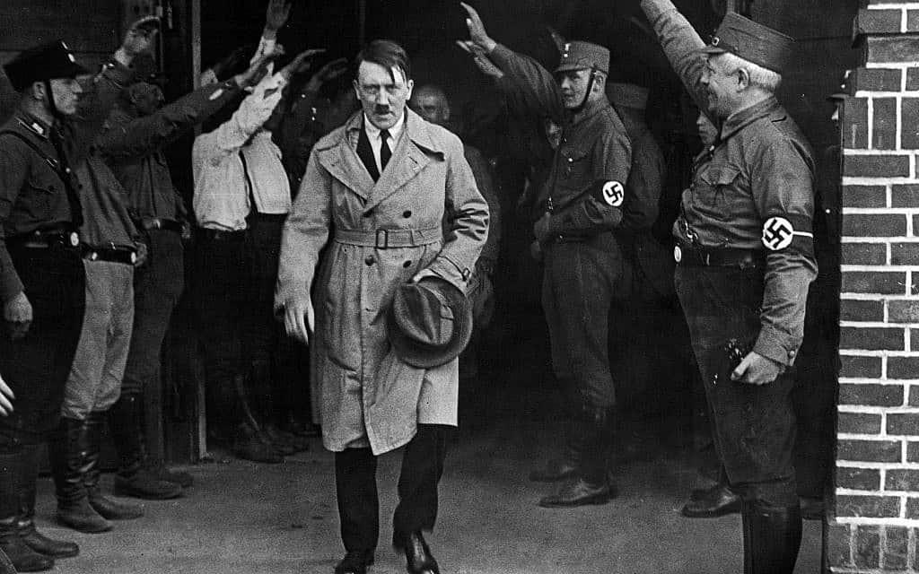 אדולף היטלר, 1931 (צילום: AP Photo, File)