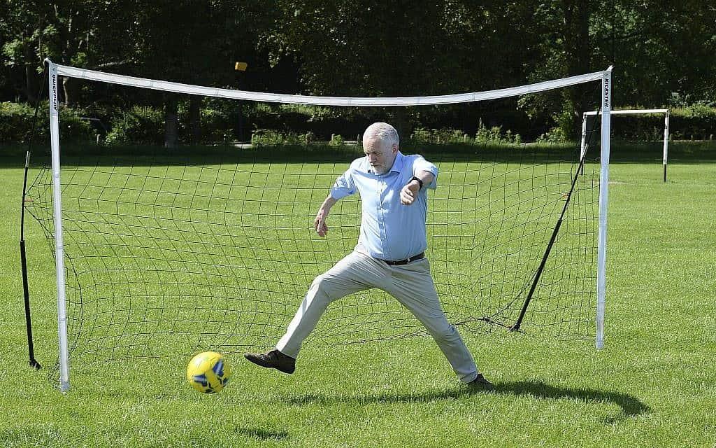 ג'רמי קורבין (צילום: John Stillwell/PA via AP)