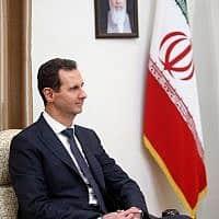 בשאר אל-אסד (צילום: Office of the Iranian Supreme Leader / AP)