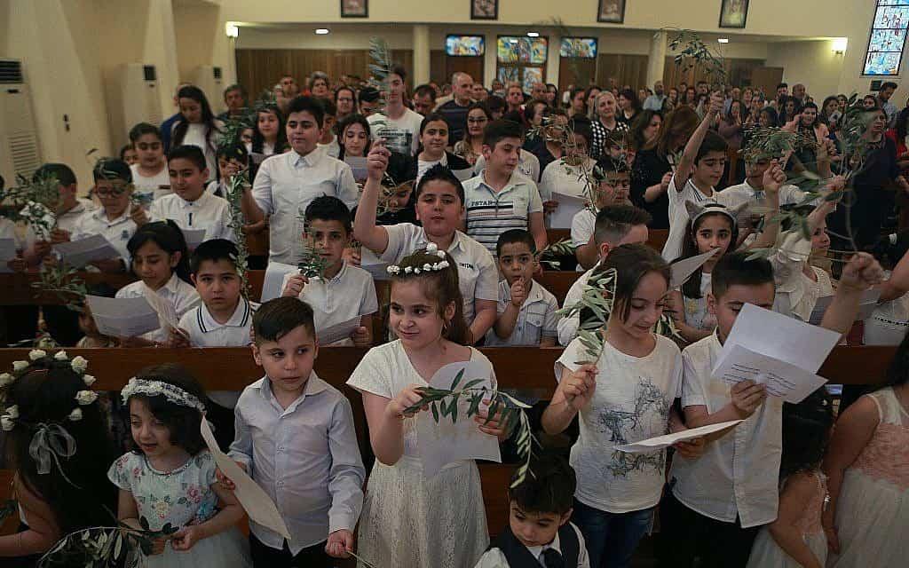 חג הפסחא בבגדד, אפריל 2019 (צילום: AP Photo/Hadi Mizban)
