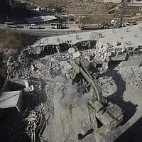 צור באהר (צילום: Mahmoud Illean, AP)