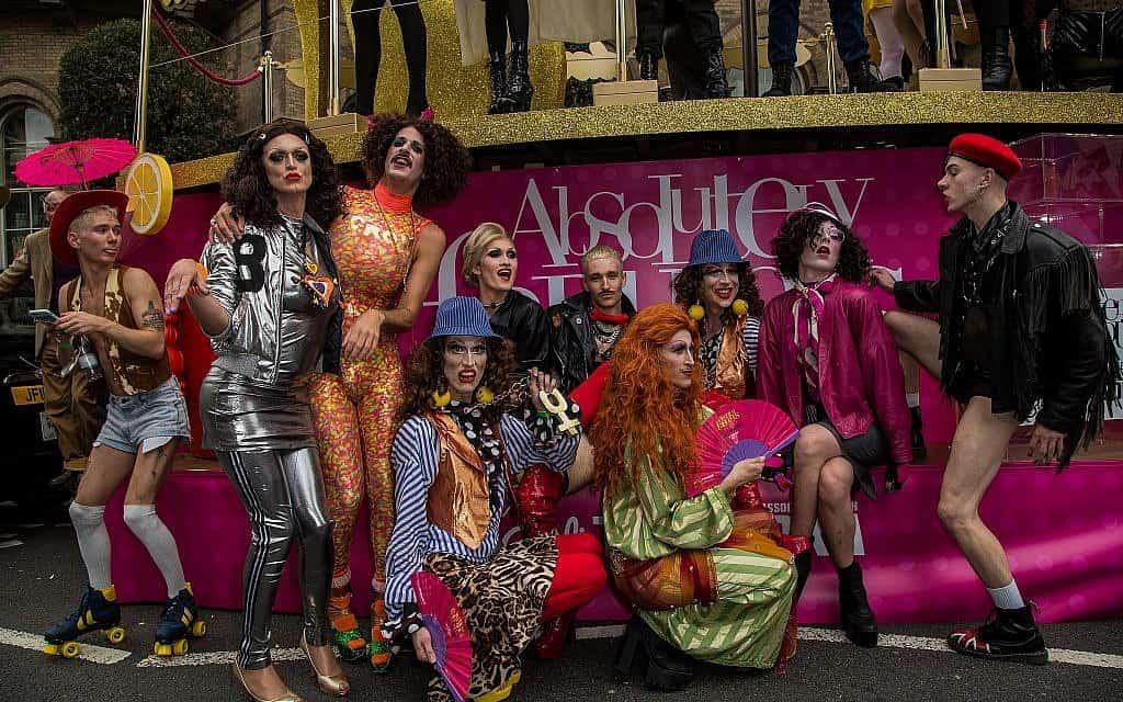 מצעד הגאווה בלונדון, 2016 (צילום: Vianney Le Caer/Invision/AP)