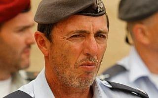 רפי פרץ כרב הצבאי הראשי (צילום: Miriam Alster/FLASh90)