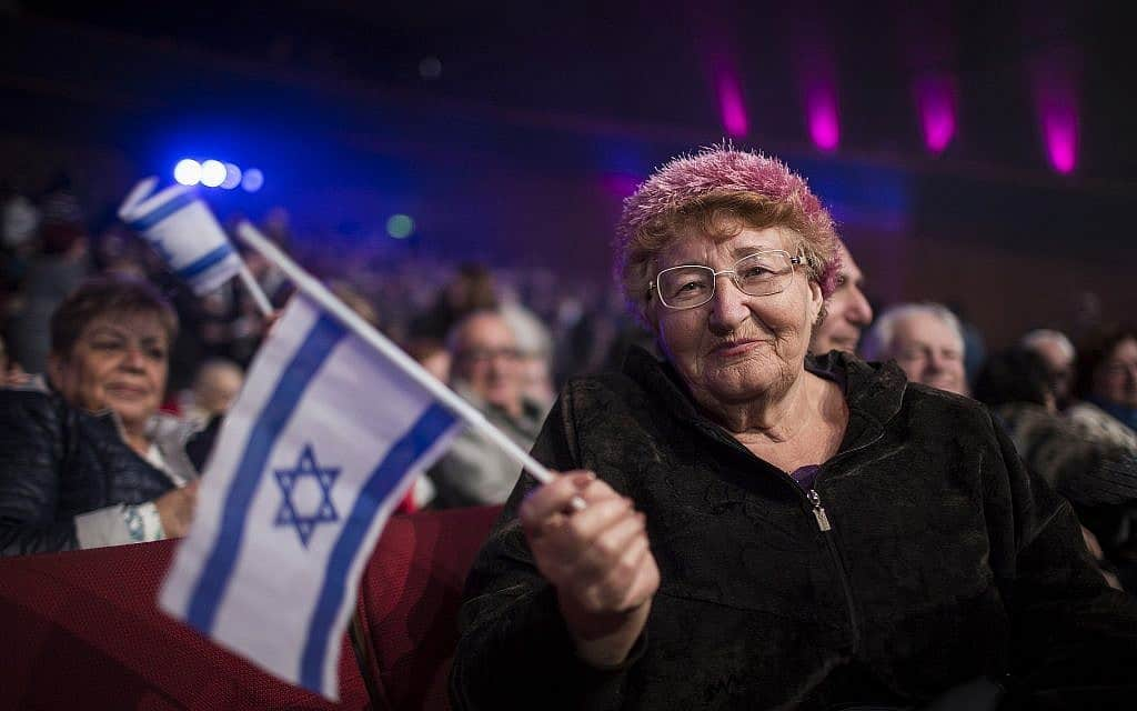 כנס עולים בירושלים לציון 25 שנות עלייה, 2015 (צילום: הדס פרוש/פלאש 90)