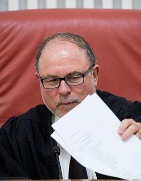 שופט בית המשפט העליון יורם דנציגר (צילום: יונתן זינדל/פלאש 90)
