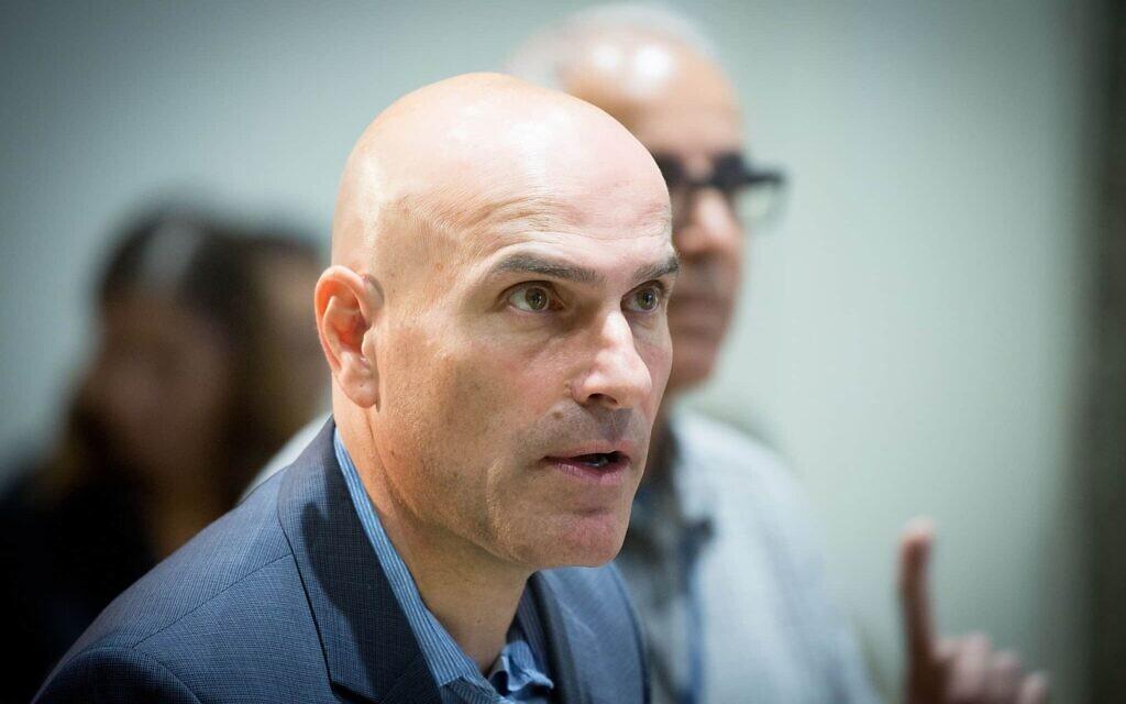 אפי נוה, יו״ר לשכת עורכי הדין לשעבר (צילום: Yonatan Sindel/Flash90)
