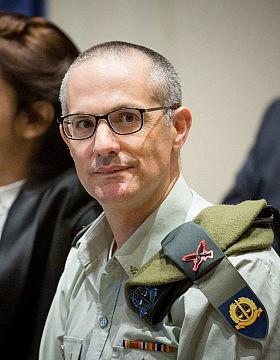 הפרקליט הצבאי הראשי, אלוף שרון אפק (צילום: יונתן סינדל/פלאש90)