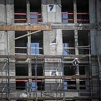 אתר בנייה, צילום אילוסטרציה (צילום: יונתן סינדל פלאש 90)