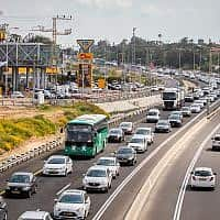 פקקי תנועה (צילום: Meir Vaknin/Flash90)