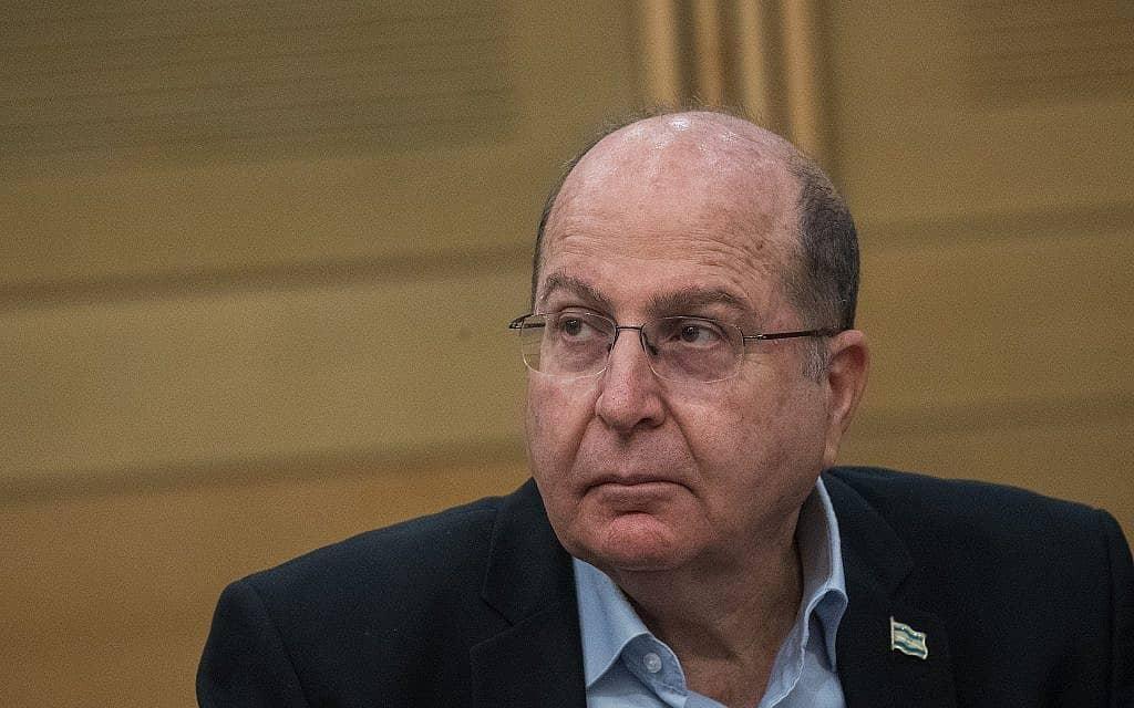 משה יעלון (צילום: Yonatan Sindel/Flash90)