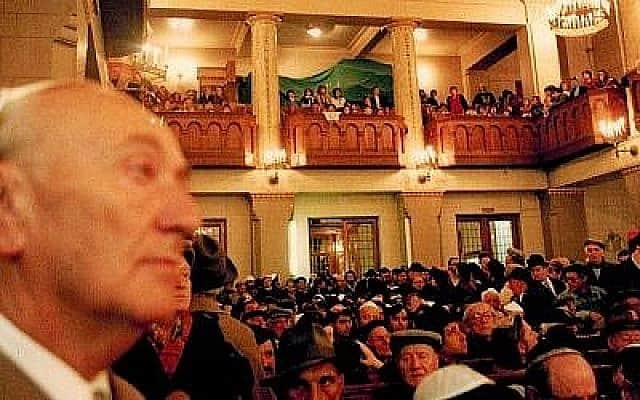 בית הכנסת במוסקבה, 1991