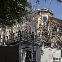 קתדרלת נוטרדאם שבפריז (צילום: Rafael Yaghobzadeh, AP)