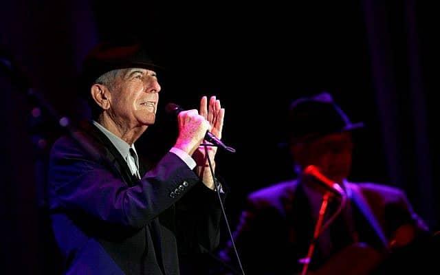 לאונרד כהן בהופעה בישראל (צילום: מרקו פלאש 90)