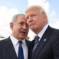 דונלד טראמפ ובנימין נתניהו (צילום: קובי גדעון/פלאש 90)