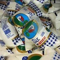 חלב תנובה (צילום: פלאש 90)