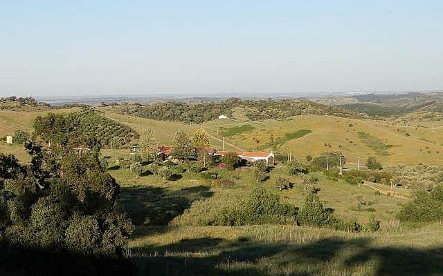 חבל אלנטז'ו הכפרי בדרום פורטוגל (צילום: מלאני לידמן/Times of Israel)