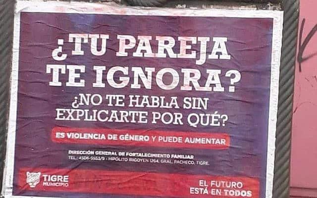 שלט רחוב בארגנטינה