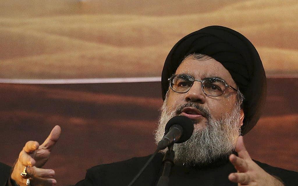 חסן נסראללה (צילום: AP Photo/Hussein Malla)