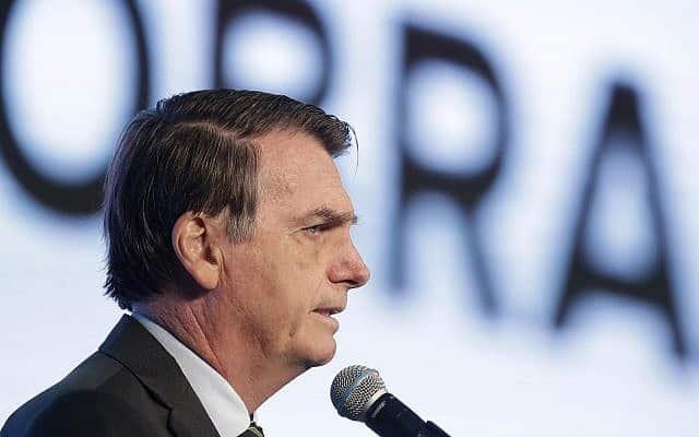 ז'איר בולסונארו (צילום: (AP Photo/Eraldo Peres))