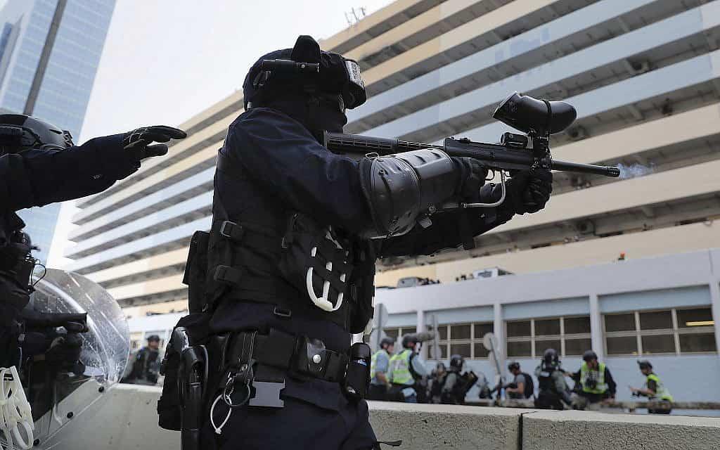 הפגנות בהונג קונג (צילום: AP Photo/Kin Cheung)