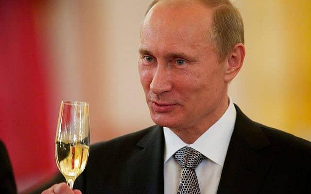 ולדימיר פוטין (צילום: AP Photo/Alexander Zemlianichenko)