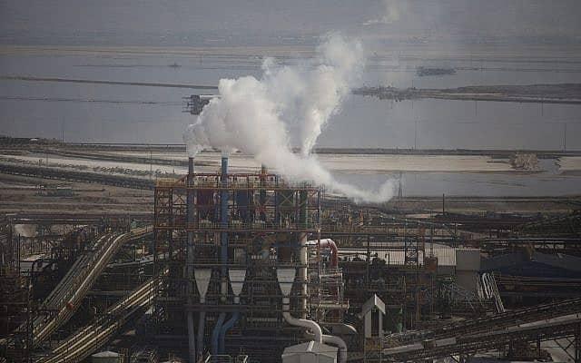 מפעלי ים המלח (צילום: Lior Mizrahi/Flash90)