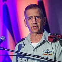 """הרמטכ""""ל אביב כוכבי. הקצינים הבכירים קיבלו הנחיות למניעת התאבדות חיילים (צילום: Flash90)"""