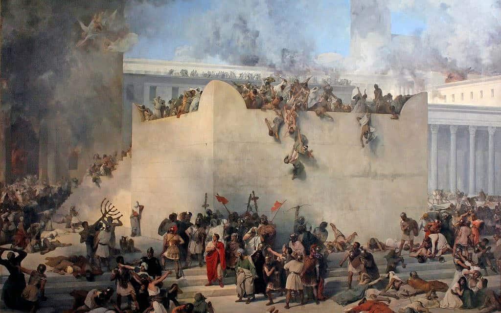 חורבן בית המקדש. ציור של פרנצ'סקו הייז