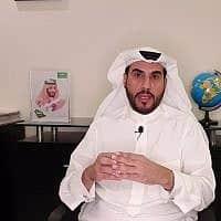 הפרשן והעיתונאי הסעודי עבדול חמיד גבין (צילום: Courtesy)