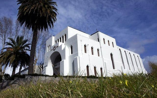 בית הכנסת כדורי בפורטו, בית הכנסת הגדול ביותר בחצי האי האיברי (צילום: ויקיפדיה/Bricking/CC BY-SA)