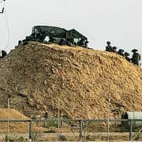 גבול עזה-ישראל, ארכיון (צילום: עבד רחים חטיב, פלאש 90)