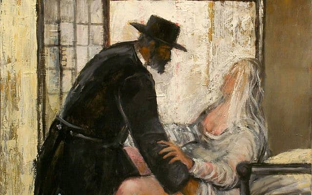 יהודה ותמר, ציור: ריצ'רד מקבי