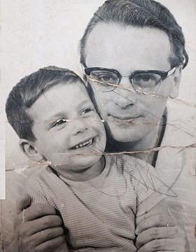 אפרים קישון ובנו רפי קישון, באדיבות המשפחה