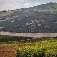 גבול ישראל-לבנון (צילום: פלאש 90)