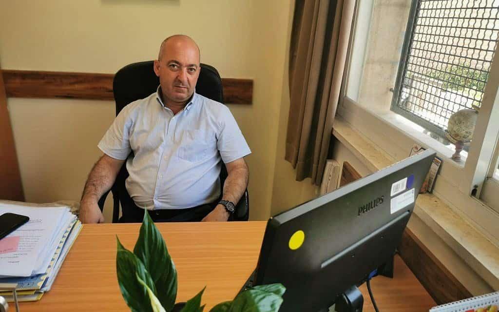חאלד סלמאן (צילום: אזהאר שלבי)