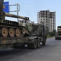 צבא סוריה בטורקיה (צילום: Resit Celebioglu, AP)