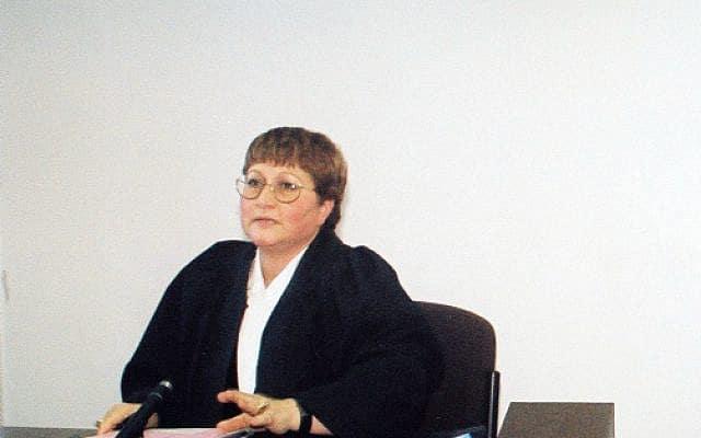 השופטת שולמית דותן (צילום: יוסי זמיר, פלאש 90)