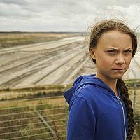 גרטה תונברג (צילום: AP Photos/Mstyslav Chernov)