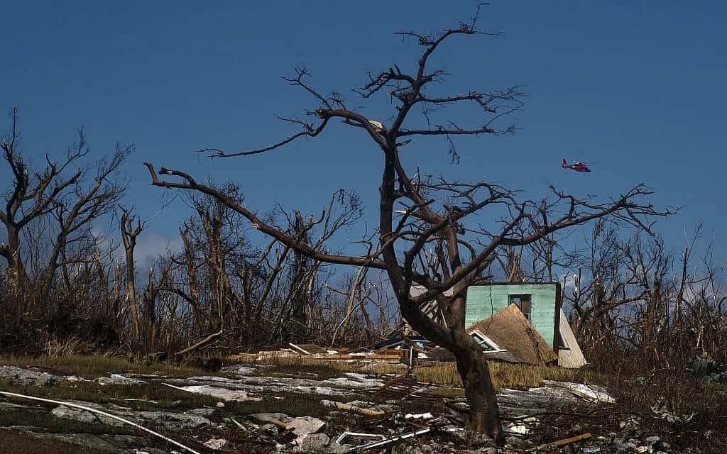 תוצאות הוריקן דוריאן בבהאמה, 5 בספטמבר 2019 (צילום: AP Photo/Ramon Espinosa)