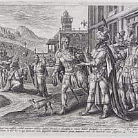 נבות ואחאב, ציור: קריספין ואן דה פאס
