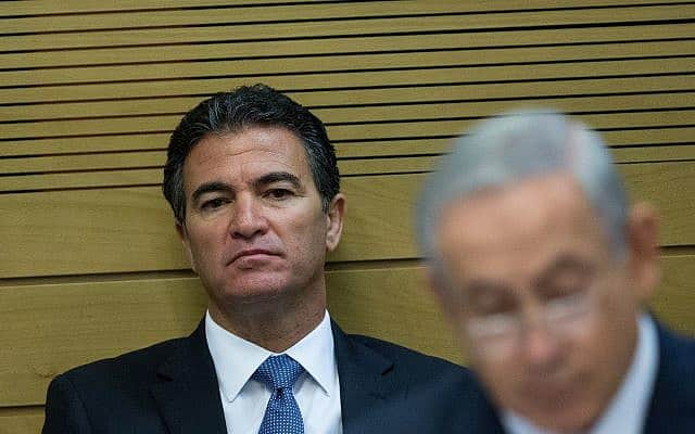 בנימין נתניהו וראש המוסד, יוסי כהן (צילום: Yonatan Sindel/Flash90)