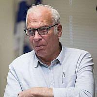 אורי אריאל, שר החקלאות לשעבר (צילום: Yonatan Sindel/Flash90)