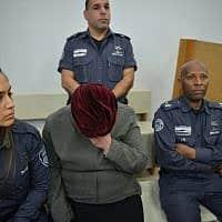 מלכה לייפר בבית המשפט בפתח תקווה – ארכיון (צילום: Flash90)