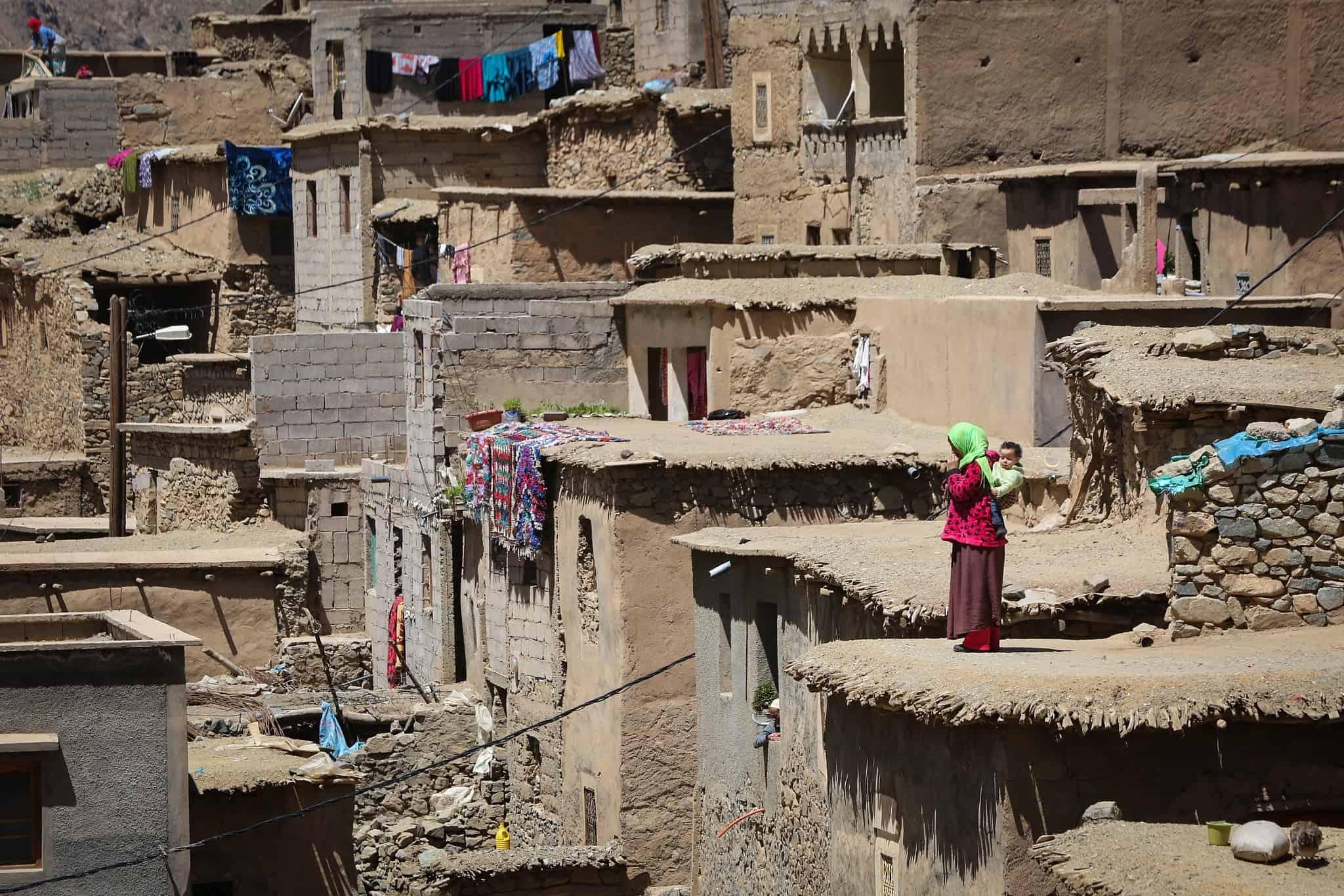 הרי האטלס במרוקו, 2018 (צילום: יוסי זמיר פלאש 90)