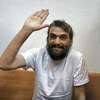עמוס דב סילבר מייסד טלגראס במעצר (צילום: Avi Dishi/Flash90)